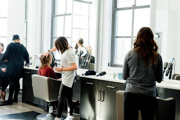 A day at the salon