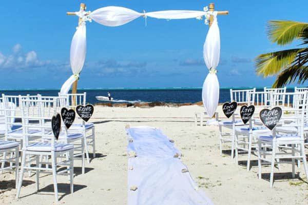 Beach Wedding Themed Style